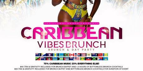 Caribbean Vibes - Indoor & Outdoor Bottomless Brunch & Day Party - Columbus Day Weekend Edition tickets