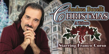 An Andrea Bocelli Christmas Tribute tickets