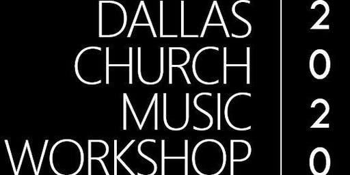 2020 Dallas Church Music Workshop -- Vendor Registration