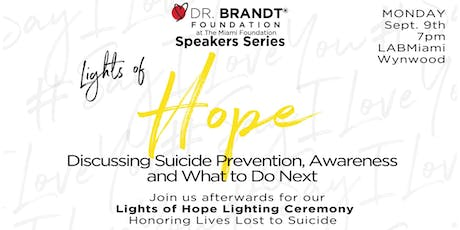 Lights of Hope Suicide Prevention Panel Discussion tickets