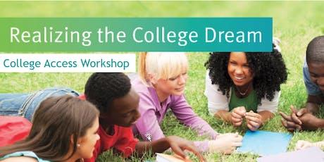 "ECMC presents ""Realizing the College Dream"" in Atlanta (Norcross), Georgia tickets"