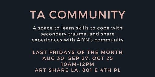 TA Community Gathering