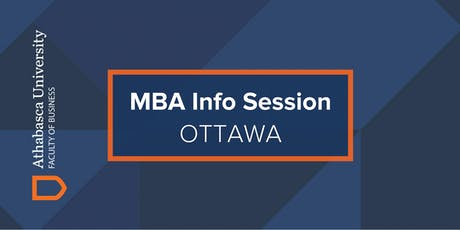 Athabasca University MBA Information Session-Ottawa tickets