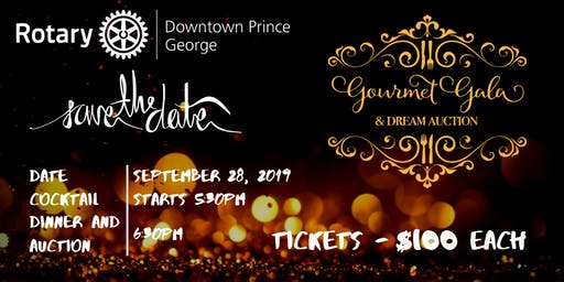 Prince George Gourmet Gala and Dream Action 2019