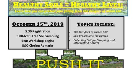 Healthy Soils=Healthy Lives  tickets