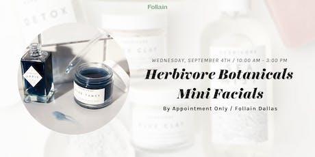 Mini-Facials with Herbivore Botanicals tickets