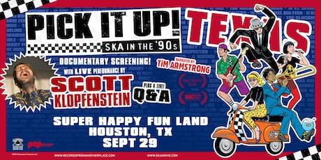 Scott Klopfenstein - Houston, TX tickets