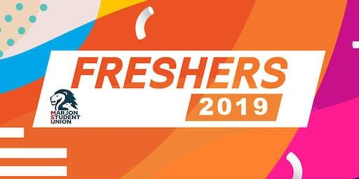 Marjon Student Union Freshers Festival Pass 2019