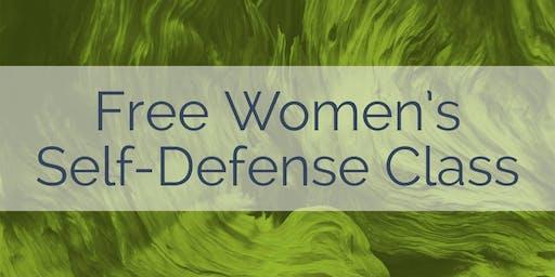 Free Women's Self-Defense Class