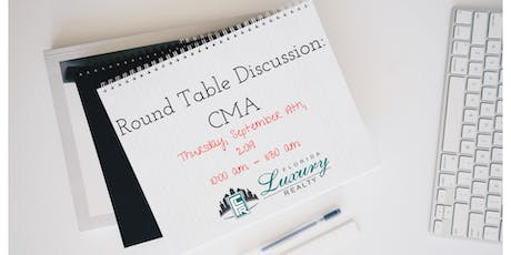 Round Table Discussion: CMA tickets