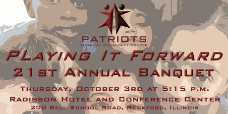 Patriots Annual Banquet tickets