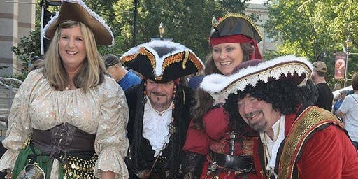 Pirate Fest Barnacle Ball at Dorothea Dix Park
