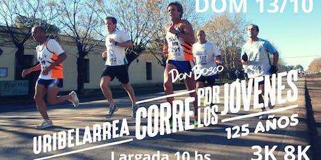 URIBELARREA CORRE POR LOS JÓVENES - 125 AÑOS entradas