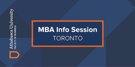 Athabasca University MBA Information Session-Toronto tickets