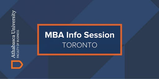 Athabasca University MBA Information Session-Toronto