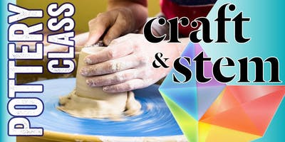 ***** Pottery Class - Saturday Evening - 6:30 pm to 8:30 pm