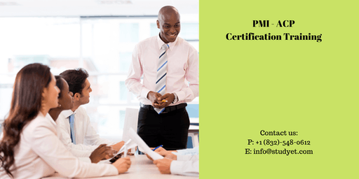 PMI-ACP Classroom Training in Sacramento, CA