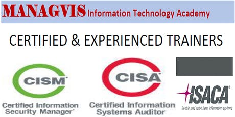 CYBER SECURITY TRAININGS IN LAGOS BY PROFESSIONALS (CISA and CISM Certification Boot camps) tickets