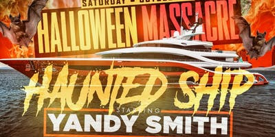 HAUNTED HALLOWEEN MASSACRE with YANDY SMITH