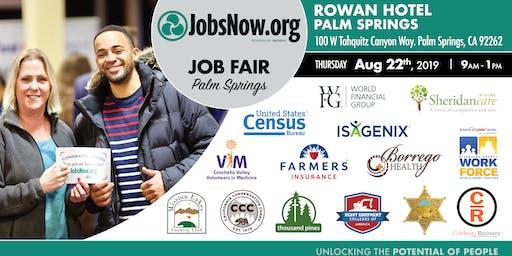 Palm Springs Job Fair-JobsNow.org