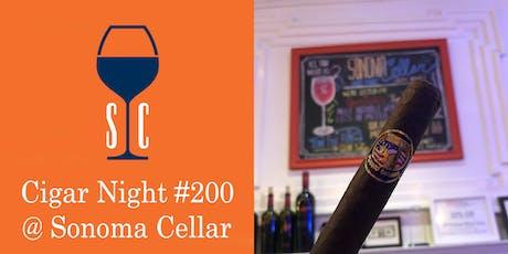 Cigar Night @ Sonoma Cellar #200 tickets