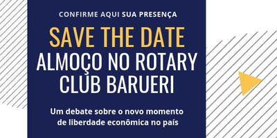 Convite Especial | Almoço no Rotary Club Barueri