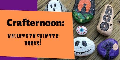 Crafternoon: Halloween Painted Rocks