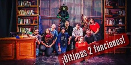 Magia y Libros Hechizados, Historias Para Soñar-Domingo 25 de Agosto ULTIMA FUNCION! entradas