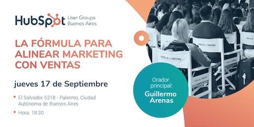 HUG #3: La Fórmula para Alinear Marketing con Ventas - Guillermo Arenas