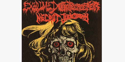 EXHUMED and GATECREEPER at Ace of Cups