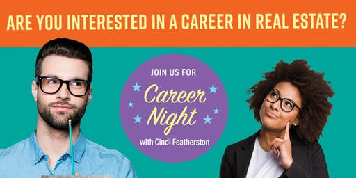 Career Night with Cindi Featherston - September 5, 2019