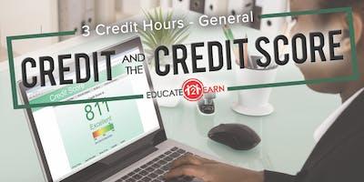 Credit & The Credit Score 3CE