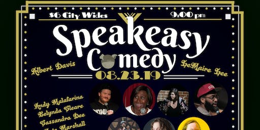 Speakeasy Comedy August 23 Showcase