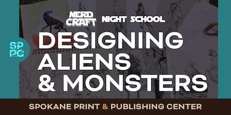 Nerd Craft Night School: Designing Aliens & Monsters, 09/24 & 09/26 tickets