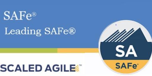 Scaled Agile : Leading SAFe 4.6 with SAFe Agilist Training & Certification Sacramento,CA