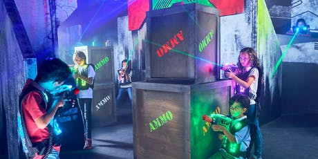 Glow in the Dark Laser Tag tickets