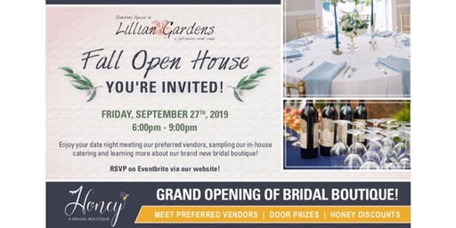 Lillian Gardens Fall Open House