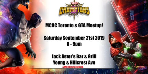 MCOC Toronto & GTA Meetup!