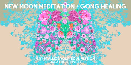 Virgo New Moon Meditation & Gong Healing | Crystallize Your Soul Mission tickets