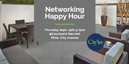 Networking Happy Hour at the Courtyard Marriott