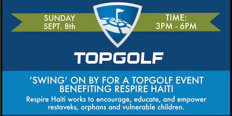 Friends of Respire Haiti TopGolf tickets
