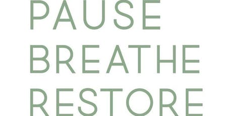 Pause Breathe Restore - GRIEF SHARE (Free) tickets