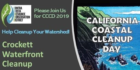 California Coastal Cleanup Day at the Crockett Waterfront tickets