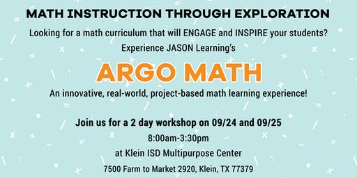 ARGO MATH 2-day workshop