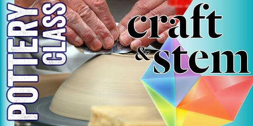 Adult Pottery Class - Thursday Evening - 6:30 pm to 8:30 pm