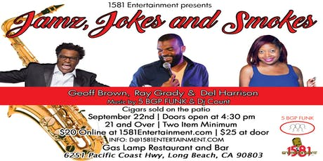JAMZ, JOKES AND SMOKES tickets