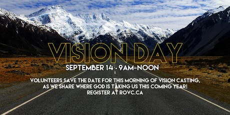 Vision Day 2019 tickets