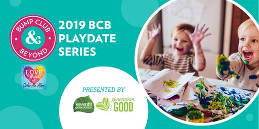 BCB Playdate at Color Me Mine Presented by Seventh Generation! (Eagan, MN)