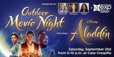 Outdoor Movie Night-Aladdin