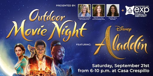 Outdoor Movie Night-Aladdin